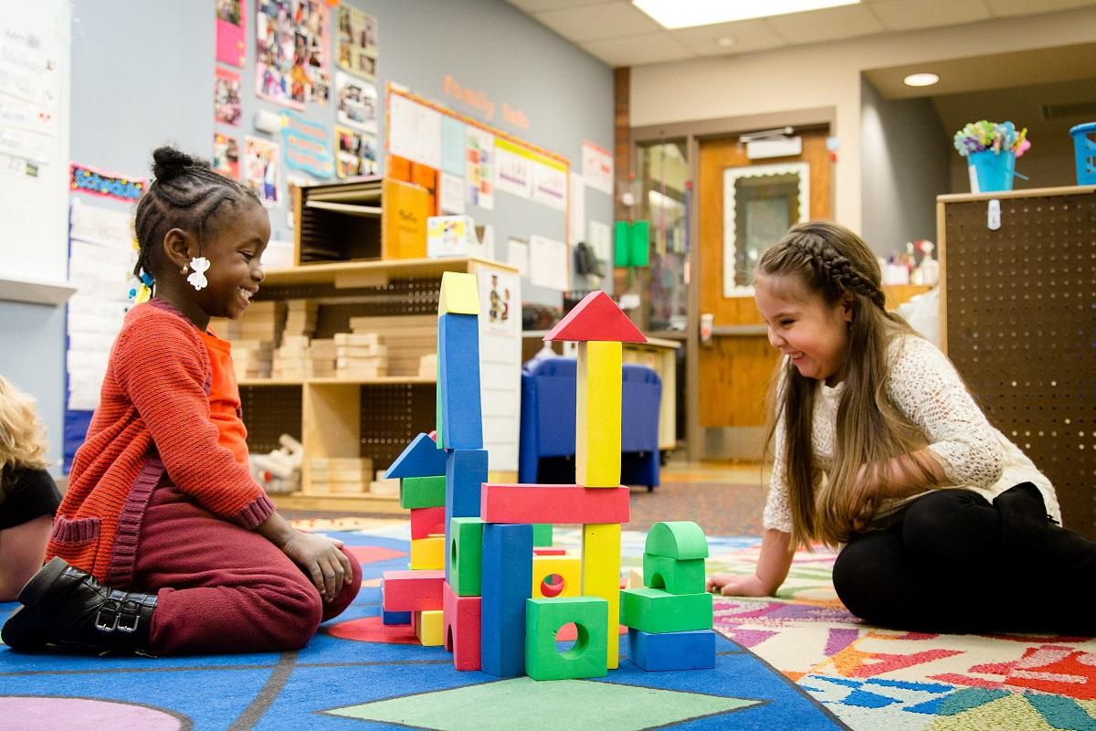 Students at Franklin preschool