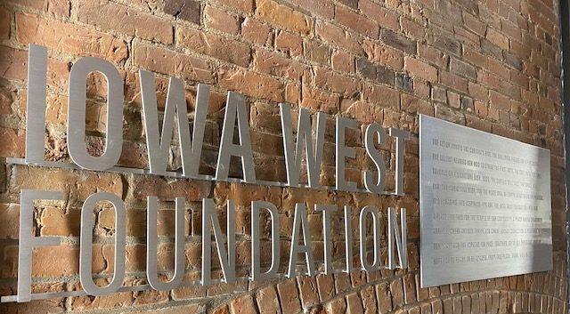 Iowa West Foundation wall art