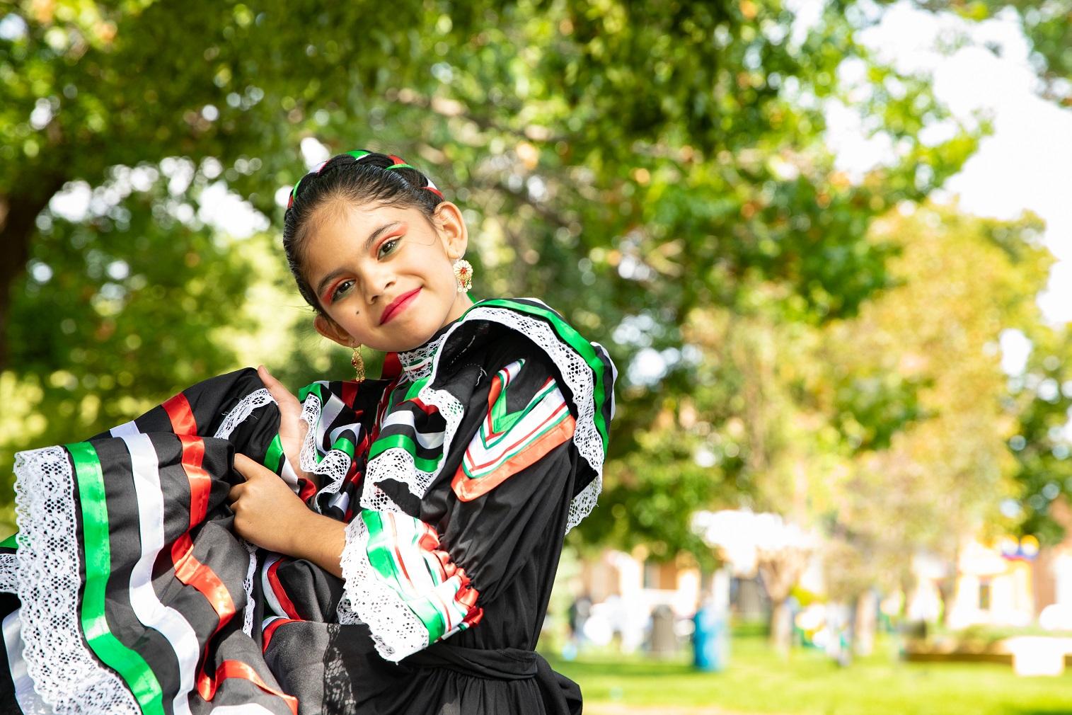 Latinofest girl dancing