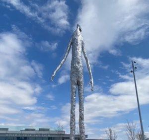 Looking Up Sculpture